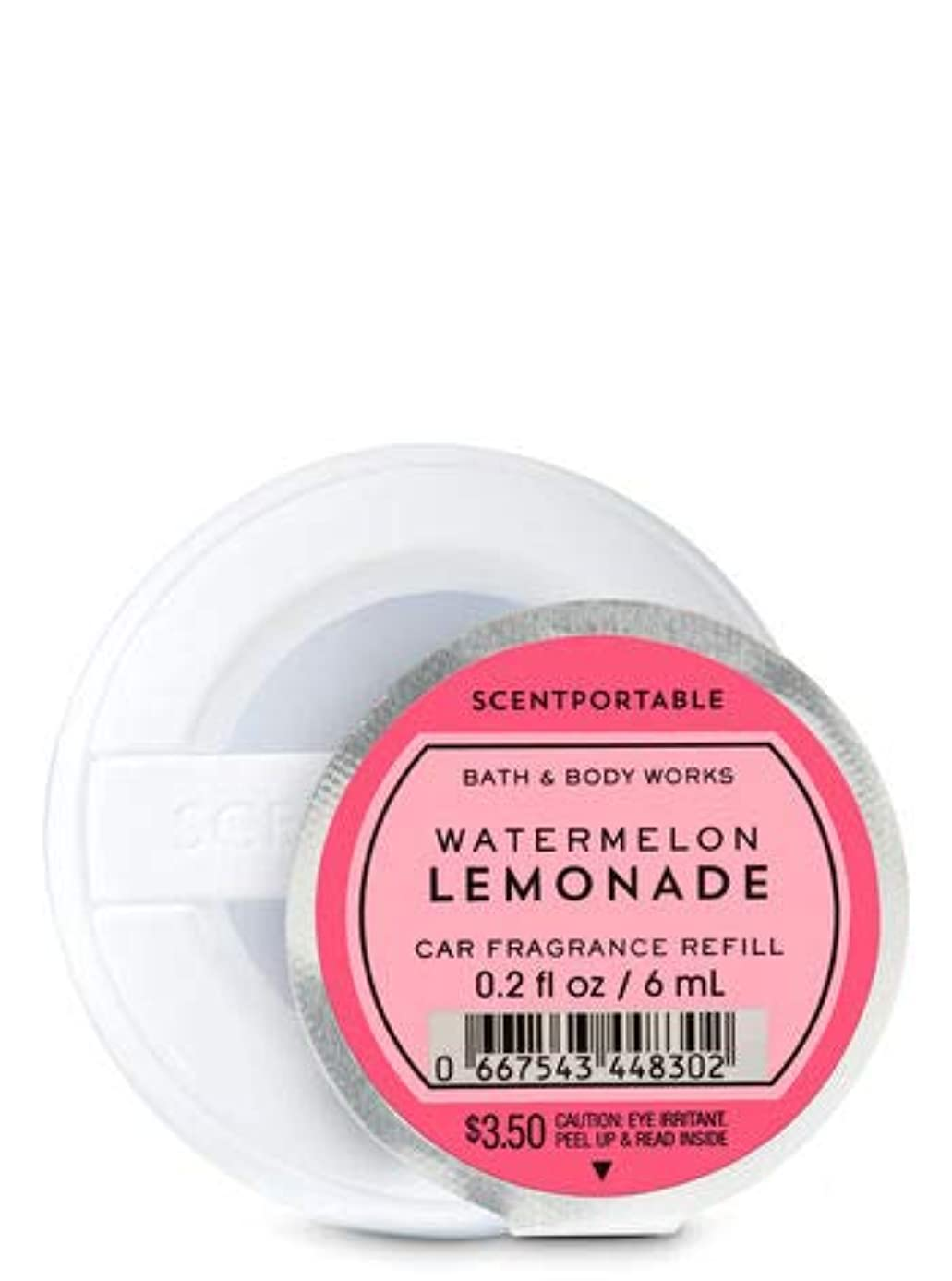 高層ビル旅バウンス【Bath&Body Works/バス&ボディワークス】 クリップ式芳香剤 セントポータブル詰替えリフィル ウォーターメロンレモネード Scentportable Fragrance Refill Watermelon Lemonade [並行輸入品]