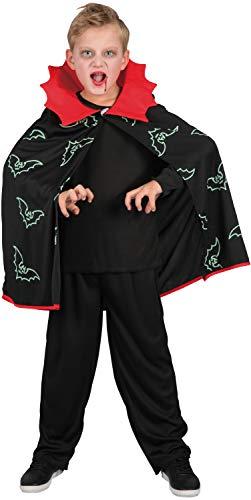 U LOOK UGLY TODAY Kinder Kostüm Vampir Umhang Batman Halloween Karneval Verkleidungsparty Cosplay für Jungen - M