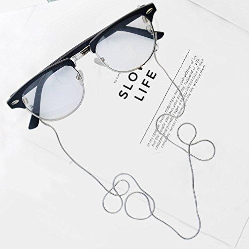 眼鏡ストラップcnomgメガネチェーンシンプルでおしゃれ男女兼用78cm