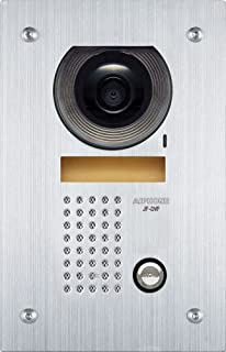 Aiphone JF-DVF Flush-Mount Audio/Video Door Station for JF Series Intercom System, Stainless Steel Faceplate