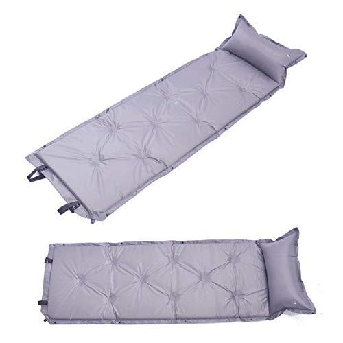 Song6 Strandzelt Mit anhängendem Kissen Faltbare selbstaufblasende Zelt spleißen schaumstoffmatte leichte aufblasbare Outdoor luftmatratze wasserdicht kompakte Einzel Camping Schlafsack Camping Zelt
