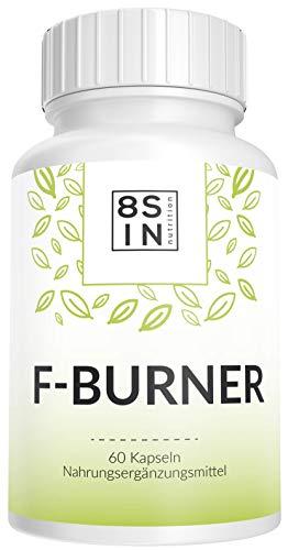 8 Sin Nutrition | Stoffwechselkur | Fettverbrennung | Hochdosierte Kapseln | Hergestellt in Deutschland