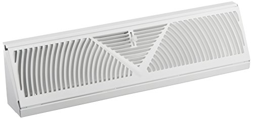 Mintcraft Bb-18w Baseboard Register White 18in
