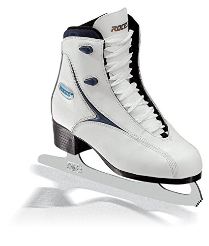 Roces RFG 1 Women's Ice Skates,Off-White (white / blue),5 UK(39EU)