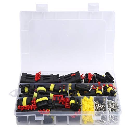 Enchufe de conector impermeable 352 piezas, sistema de conexión automotriz eléctrico suministros industriales