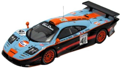 Ixo - LMM106 - Véhicule Miniature - MC - Laren F1 GTR - Gulf - Le Mans 1997 - Echelle 1/43