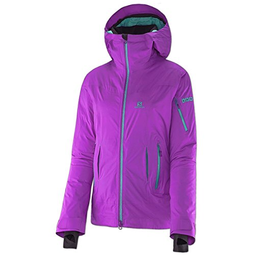 Salomon Damen Outdoor Daunen Jacke Soulquest BC Down Jacket (little violette, M)