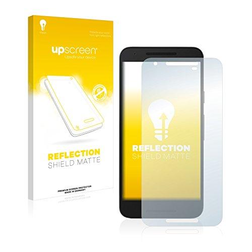 upscreen Entspiegelungs-Schutzfolie kompatibel mit Google/LG Nexus 5X – Anti-Reflex Bildschirmschutz-Folie Matt
