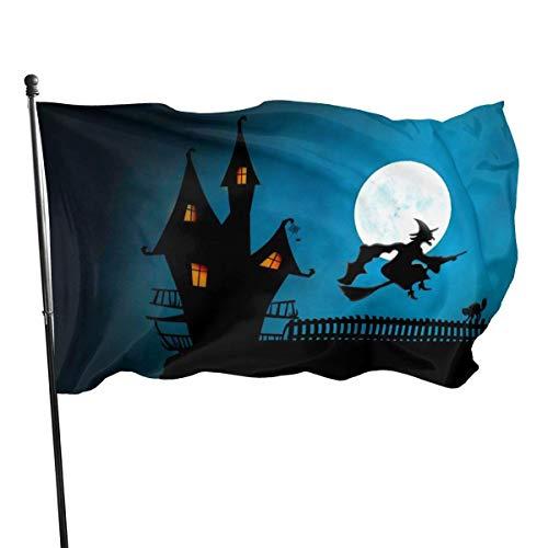 MYGED Halloween Custom Lightweight Flag 3x5 Ft, einseitige Gartenflaggen für den Innen- und Außenbereich UV-geschützt