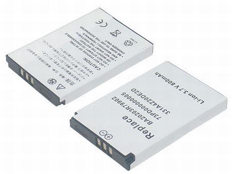 PowerSmart® 3.7 V 800 mAh replacement for Creative Nomad MuVo2, Nomad Jukebox Zen Xtra, Nomad Jukebox Zen NX, fits battery type 331A4Z20DE2D, 73PD000000005, BA20203R79902, DAP-MVAB1