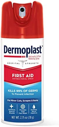 DERMOPLAST First AID 2 75OZ Spray Pack of 2 product image