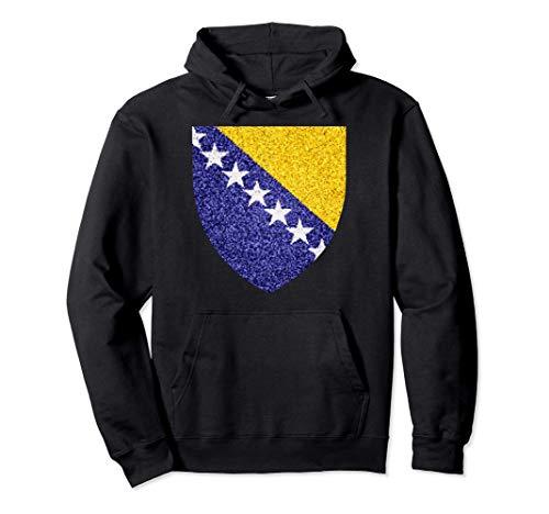 Bosnien-neue künstlerische bosnische Expat-Fahne Pullover Hoodie