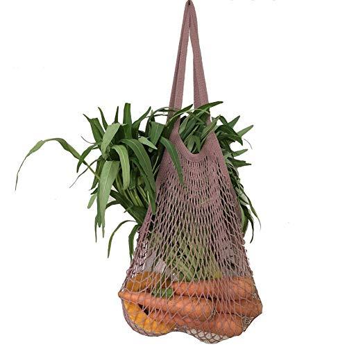 Einkaufsnetz Netze Tasche Kartoffelsack wiederverwendbar Einkaufstasche für...