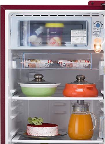 LG 190L 5 Star Direct-Cool Smart Inverter Single Door Refrigerator (GL-D201ASPZ, Scarlet Plumeria, Base stand with drawer) 7