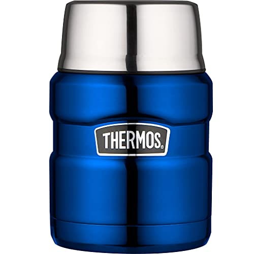Picture of Thermos King Flask Vacuum Insulated Food Flask 470ml Metallic Blue
