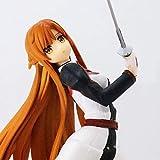 HYJWYAS Sword Art Online Yuuki Asuna PVC Anime Dibujos Animados Juego Carácter Modelo Estatua Figura Toy Coleccionables Decoraciones Regalos Favorito por Anime Fan