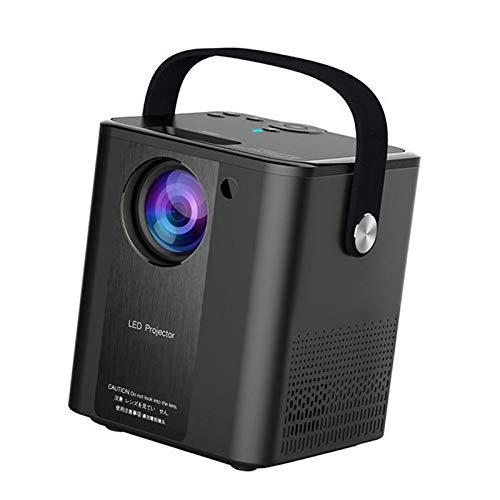Generic Proyector de vídeo portátil Full HD 1080P y 180 pulgadas, compatible con pantalla nativa 800P y 2000 lúmenes ANSI, WiFi, tipo B