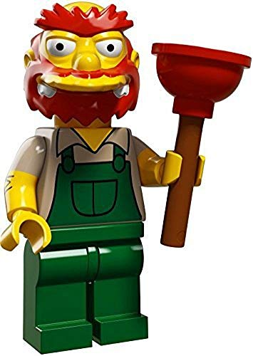LEGO The Simpsons Series 2 Collectible Minifigure 71009 - Groundskeeper Willie