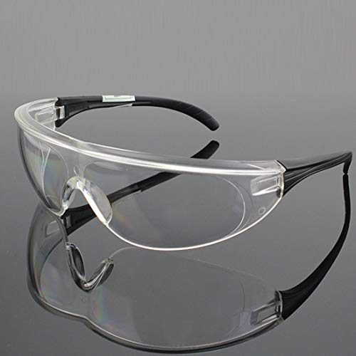 ビジョンベルデ 保護めがね 軽量 ソフト鼻パッド 両面ハードコート 防衝撃 防塵 防風 1個