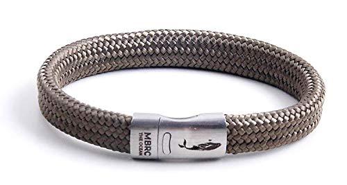 MBRC Atlantic Bottle MBRC Sportieve armband met praktische click-on magneetsluiting, touwarmband gemaakt van 100% gerecyclede plastic flessen