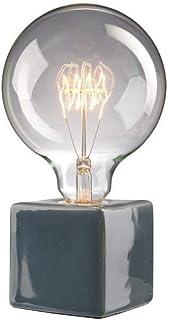 Villeroy & Boch Helsinki Lampe de Table Céramique 60 W Gris H 8 x 8 cm