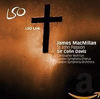 SIR COLIN DAVIS - MACMILLAN  ST JOHNS PASSION