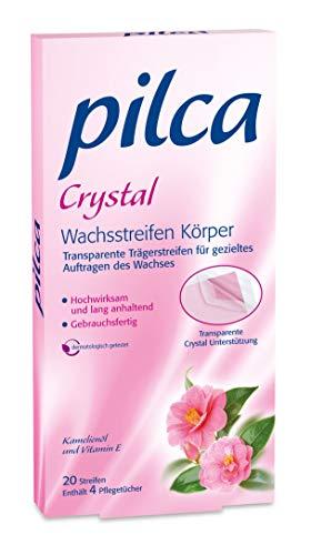 Pilca Kaltwachsstreifen für den Körper - Hochwirksam und langanhaltend- 1er Pack (1 x 20 Stück)