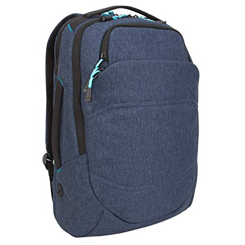 Targus Groove X2 Max Backpack with Protective Sleeve Designed for Travel and Commute fits up to 15-Inch Macbook and Other Laptop, Navy (TSB95101GL)