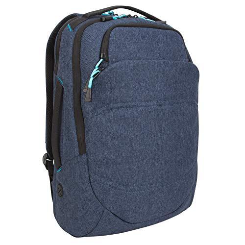 Targus Groove X2 Max rugzak voor MacBook 15 inch / 38,1 cm en laptops tot 15 inch, antraciet (TSB951GL) rugzak 38,1 cm (15 Zoll) marineblauw
