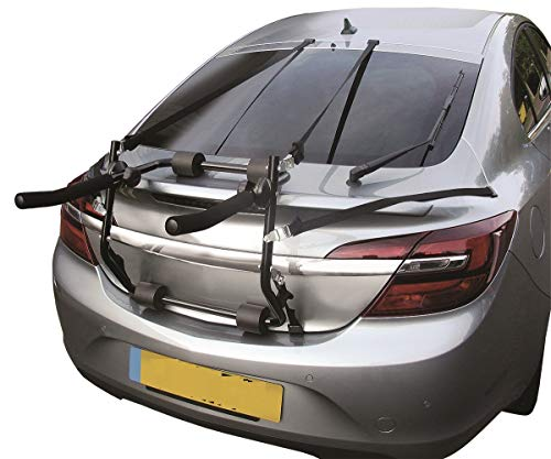 MP Essentials Bicycle Car Transport Vehicle Cycle Carrier (Rear Mounted Cycle Carrier for 2 Bikes)