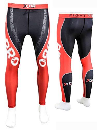 Xn8 - Pantaloni Sportivi da Uomo, a Compressione, per Palestra, Boxe, UFC, Taglia M (31-83,8 cm)