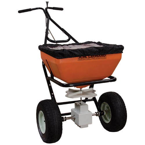 Buy Cheap AM Leonard 70 Pound Spreaders - Black Powder-Coated Stainless Steel Frame