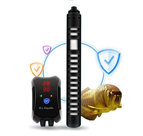 S$S Grote energie-aquarium thermostaat, automatische verwarmingsstangen, explosiebeveiligd, digitaal display bij hoge temperatuur, 1200 W