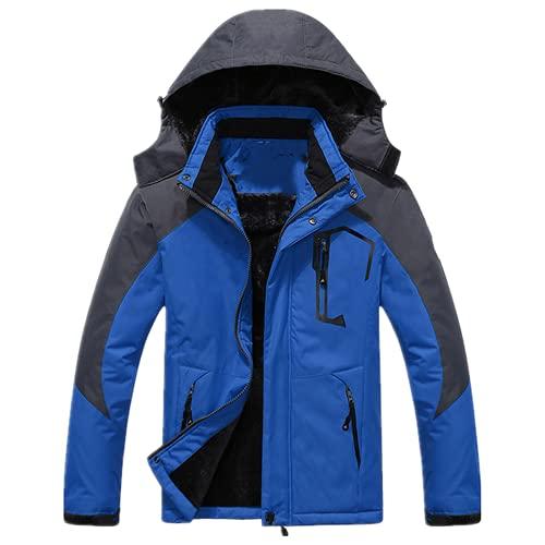 N\P Parkas de invierno hombres a prueba de viento viento a prueba de viento más chaqueta gruesa parkas