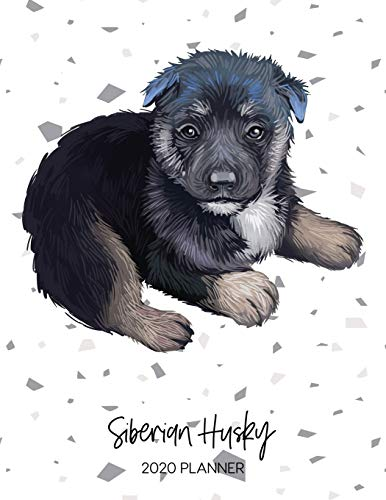 Siberian Husky 2020 Planner: Dated Weekly Diary With To Do Notes &...