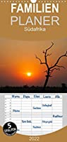 Suedafrika - Familienplaner hoch (Wandkalender 2022 , 21 cm x 45 cm, hoch): Die ganze Welt in einem Land. (Monatskalender, 14 Seiten )