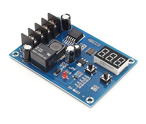 ZRYYD Módulo de Control de la Carga de la batería de Litio de la batería XH-M603 Módulo de Control de la Carga de la batería del Interruptor de protección 12-24V