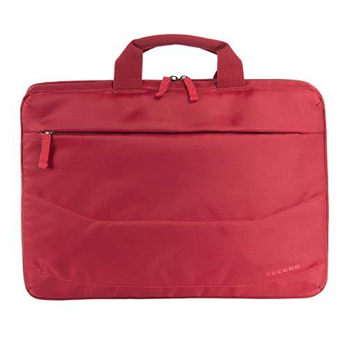 """Tucano - Borsa PC Slim per Laptop Fino a 15.6"""", Compatibile con MacBook 16"""", Imbottita e Protettiva, Ideale per Ufficio, università, Viaggio, da Uomo e da Donna"""