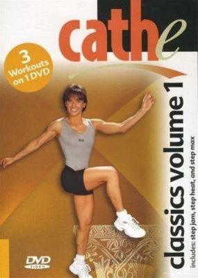 Cathe Friedrich Classics Vol 1 Step Jam, Step Heat, Step Max DVD