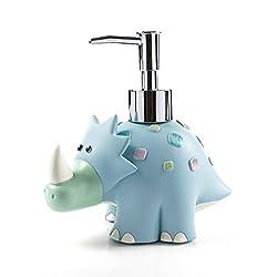 3. Wendin SPA Collection cartoon dinosaur liquid soap dispenser
