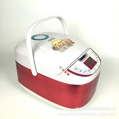 Rice cook Home Smart Reiskocher, Multifunktions-Schiebedach Reiskocher, Luxus Automatische Reiskocher,rot,5L
