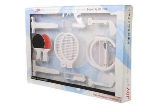 Joy4 WII Super Sport Pack LUXUS - Compatible avec Nintendo 10St