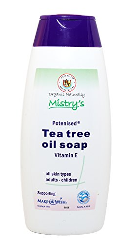 The House of Mistry Savon liquide bio à l'huile d'arbre à thé avec vitamine E