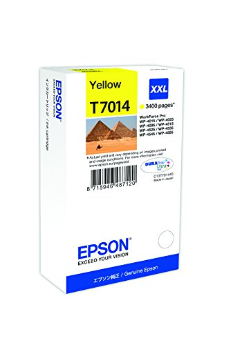 Epson Toner XXL per Wp 4000 4500 Serie Piramidi, Giallo