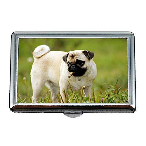 Zigarettenetui (King Size), Terrier Yorkie Hund Vodafone Hund, Business Name Kartenhalter
