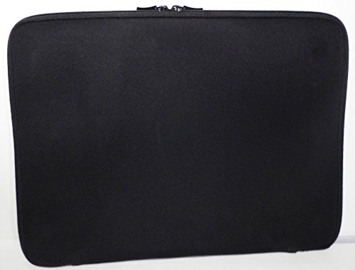 Simple Sleeve by Good Gear for Life, Practical, 3-Sided Neoprene Laptop Sleeve and Tablet Case - Black, 13-inch, Fits Both PC laptops, Android Tablets, Apple iPads, and MacBooks