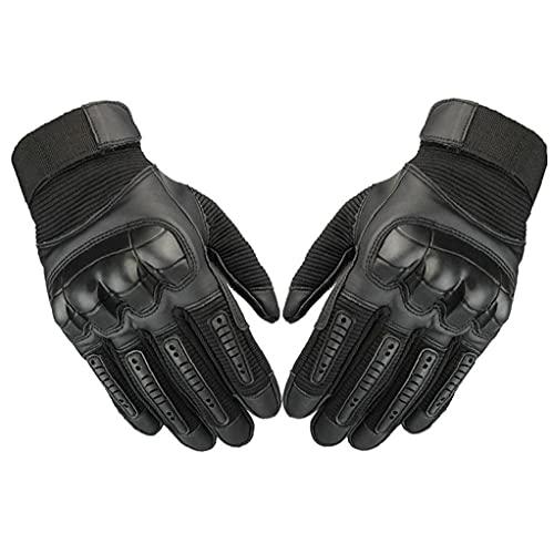 Motor Handschoenen Air Flow Lederen Motorhandschoenen Mannen Touch Screen Ademende Anti-slip Volledige Finger…