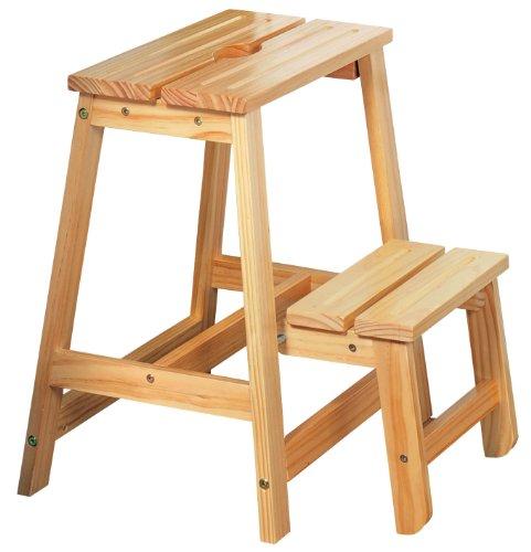 Kesper 67520 - Escalera (madera de pino certificada por el FSC, 43...