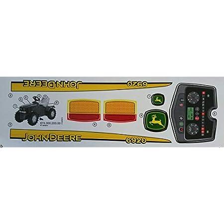Rolly Toys Aufkleber Für Dreiradtraktor John Deere Spielzeug