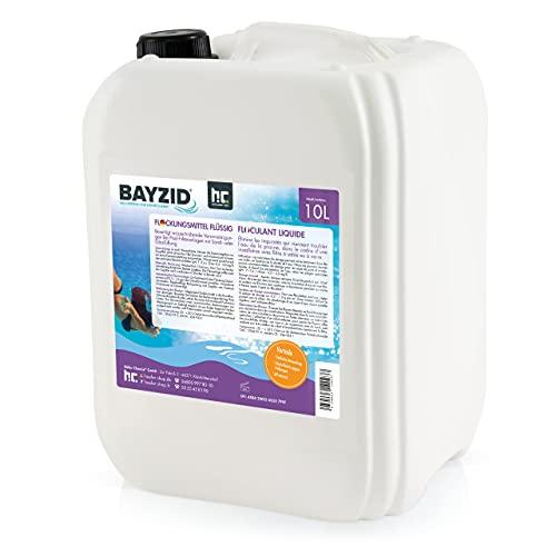 Höfer Chemie 2 x 10 L Pool Flockungsmittel flüssig BAYZID kristallklares Poolwasser - einfache Anwendung + hocheffektive Wirkung gegen Trübungen